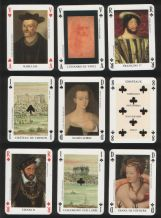 Vintage collectable playing cards 'JEU RENAISSANCE'  by Dusserre.